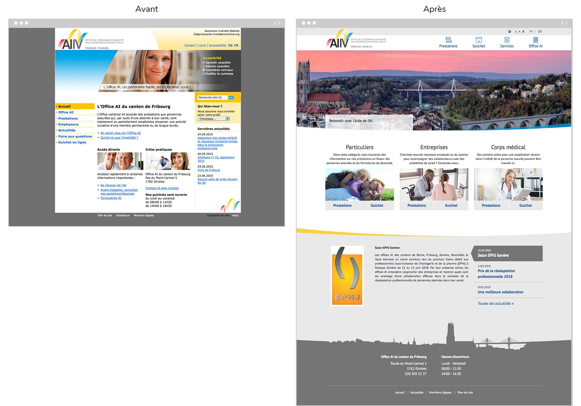 Nouveau site web pour l Office AI du canton de Fribourg aa2ce1b288cb