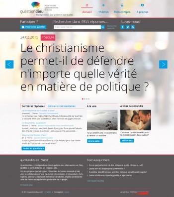 questiondieu.com, nouveau site internet interactif