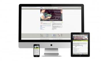 Le site internet de l'école technique - école des métiers de Lausanne relooké