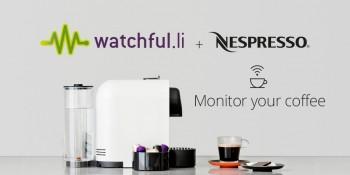 Watchful s'associe avec Nespresso pour surveiller votre consommation de café