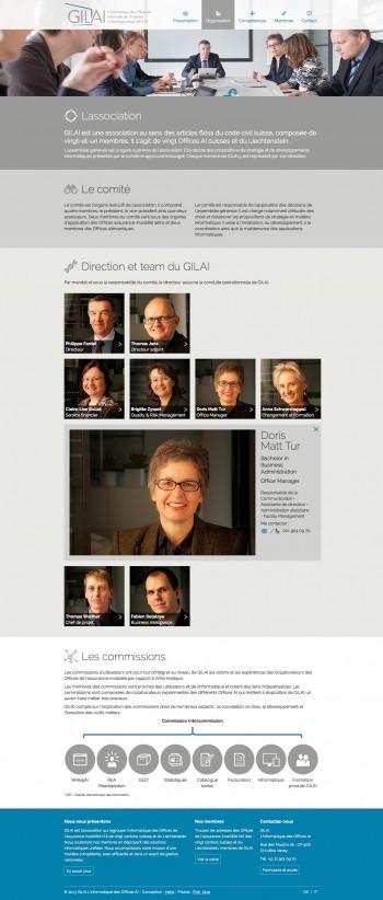 Nouveau site pour le GILAI L'informatique des Offices AI