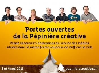 Portes ouvertes de la Pépinière créative à Vufflens-la-Ville