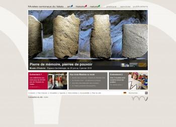 Musées cantonaux du Valais, 3 sites en 1