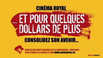 Cinéma Royal de St-Croix, recherche de fonds