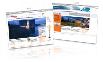 Swisspassions.com, relookage du magazine des loisirs