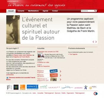 Passionregard.ch, événement culturel et musical