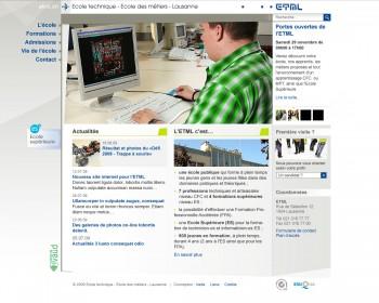 ETML - Ecole technique - Ecole des métiers