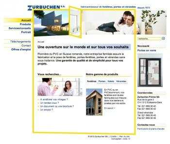 Zurbuchen SA, une ouverture sur le web