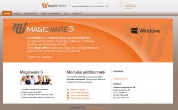 Magicware, logiciel de gestion