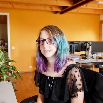 Laetitia nous rejoint pour 5 mois pour un stage d'Interactive Media Designer