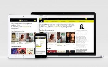 Nouveau site internet pour Ciné-Feuilles