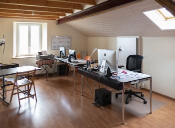 Vufflens-la-Ville, splendide bureau à louer à la campagne