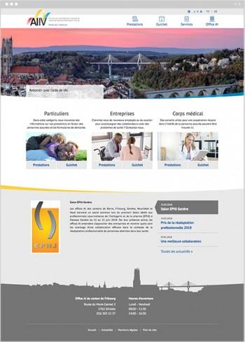 Nouveau site web pour l'Office AI du canton de Fribourg