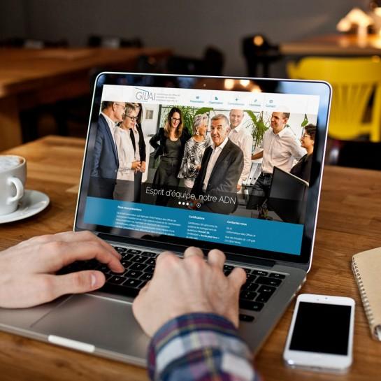 GILAI: leur site web désormais certifié accessible à tous