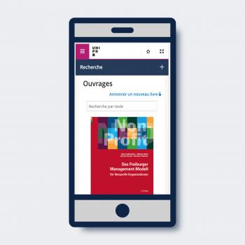 UNIBOOK, une application de gestion bibliographique imaginée par l'Université de Fribourg