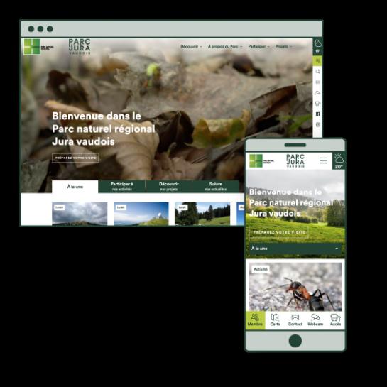 Le site du Parc Jura vaudois prend du poil de la bête!