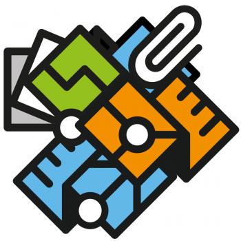 Logos des différents services et activités de l'association vaudoise ASIT