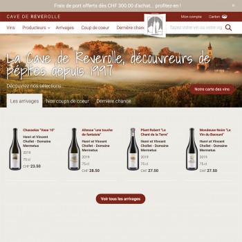 cavedereve.ch, le meilleur du vin en un clic
