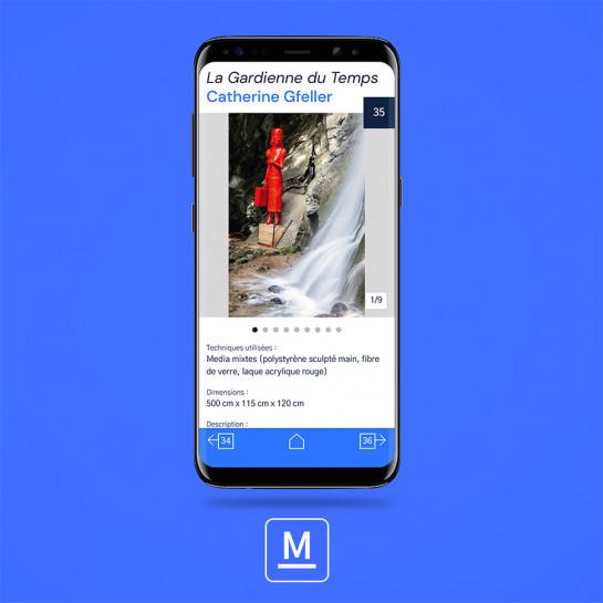 Môtiers Art - Un guide mobile pour découvrir les œuvres